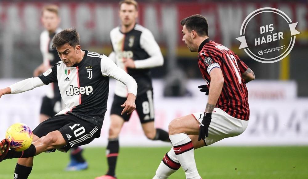 Juventus - Milan maçı için flaş karar!