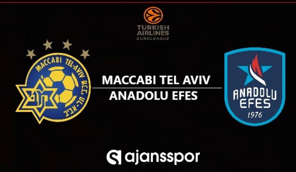 Maccabi Tel Aviv - Anadolu Efes (Canlı Skor)