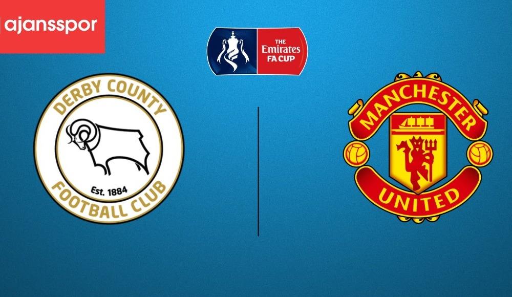 Derby County - Manchester United (Canlı Skor)