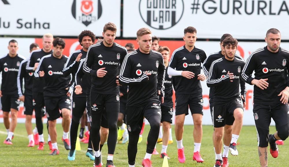 Beşiktaş, MKE Ankaragücü maçının hazırlıklarını tamamladı