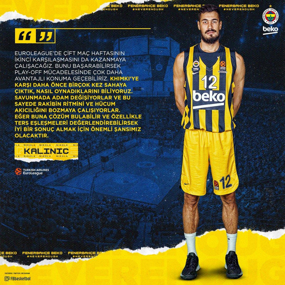BC Khimky - Fenerbahçe Beko maçını hangi kanal yayınlayacak belli oldu