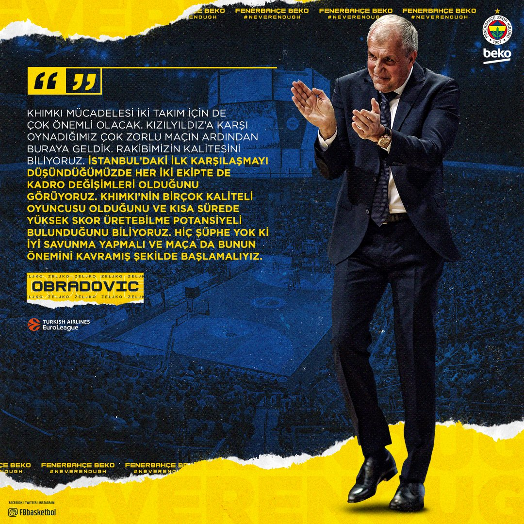 BC Khimky - Fenerbahçe Beko (Canlı Skor)