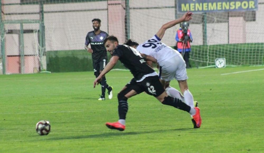 Menemenspor - Altay maçında kazanan çıkmadı!