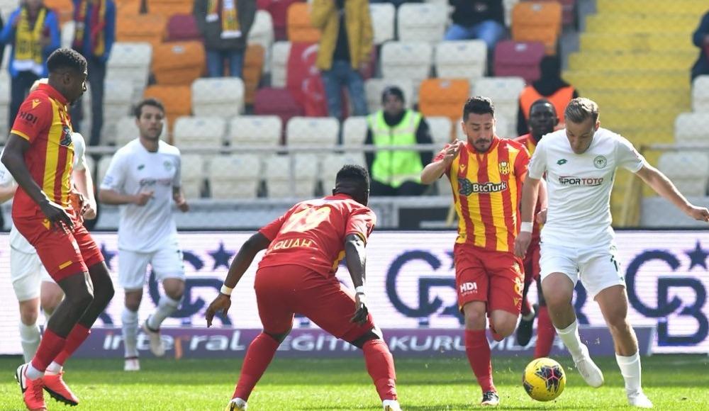 Yeni Malatyaspor'un puan hasreti sona erdi