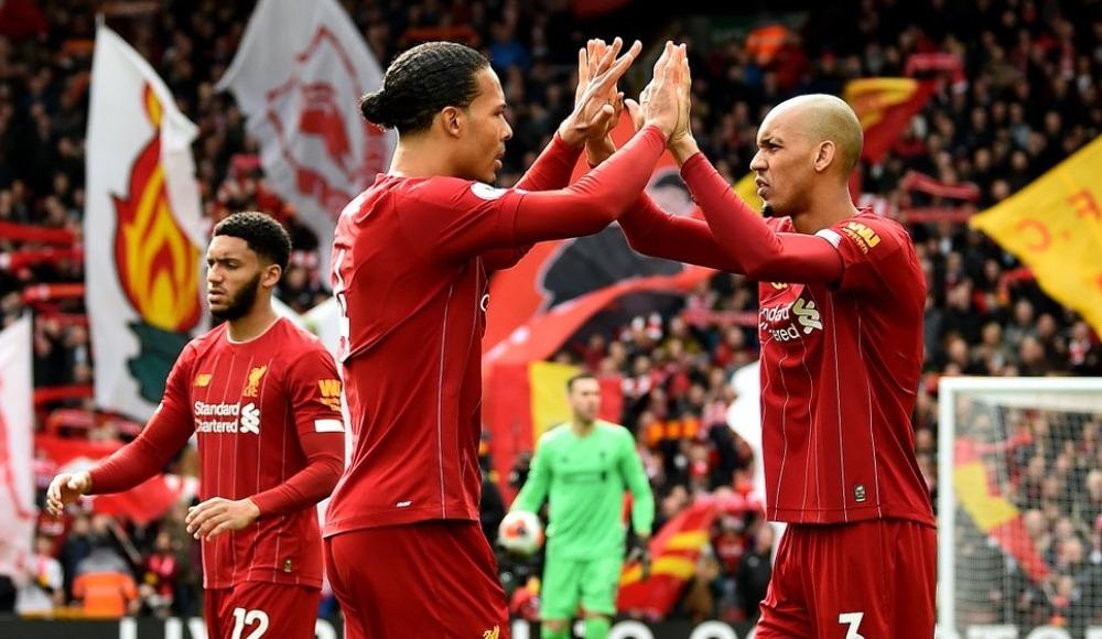 Liverpool iç saha rekorunu geliştirdi