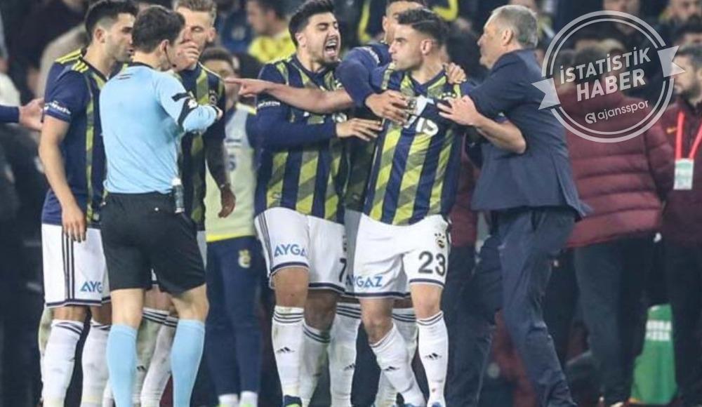 Fenerbahçe ligin en çok kırmızı kart gören takımı oldu