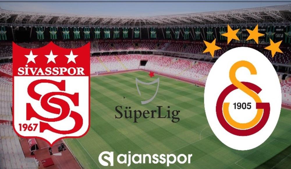 CANLI İZLE: Sivasspor - Galatasaray