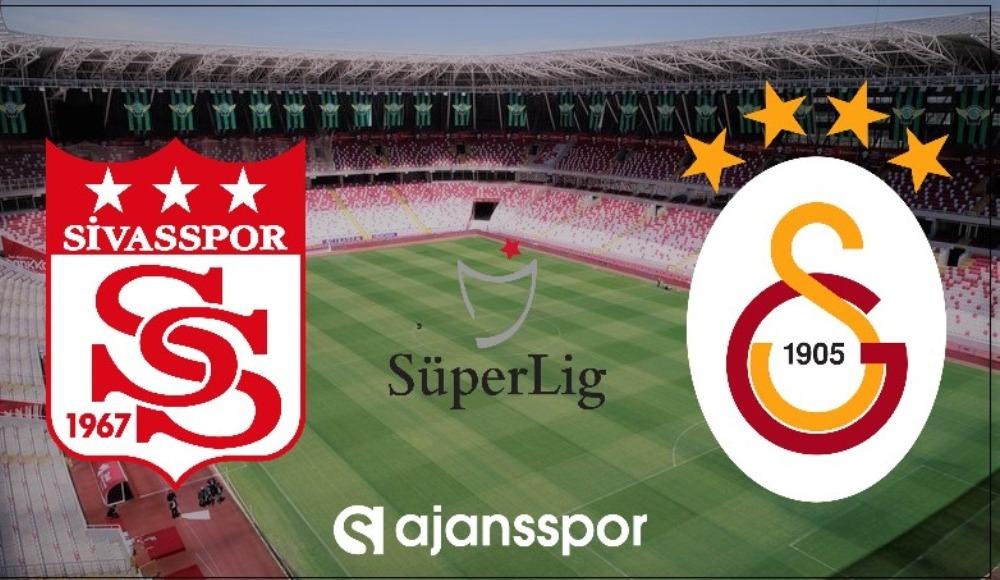 CANLI MAÇ İZLE: Sivasspor - Galatasaray