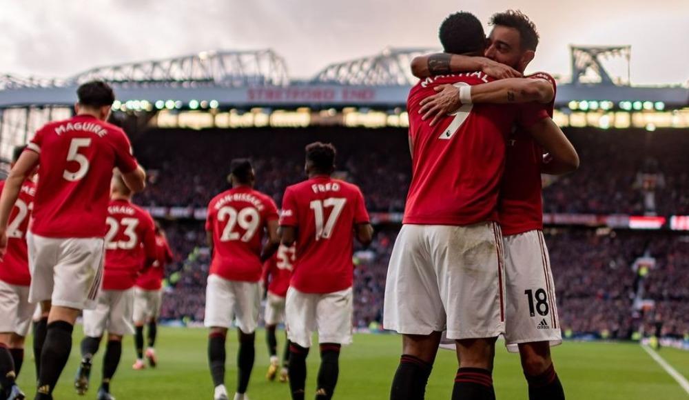 United, derbide 'Manchester kırmızı' dedi!
