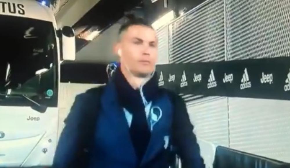 Ronaldo'dan koronavirüs göndermesi