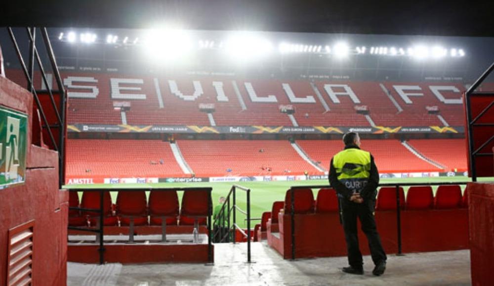 Roma - Sevilla maçı seyircisiz