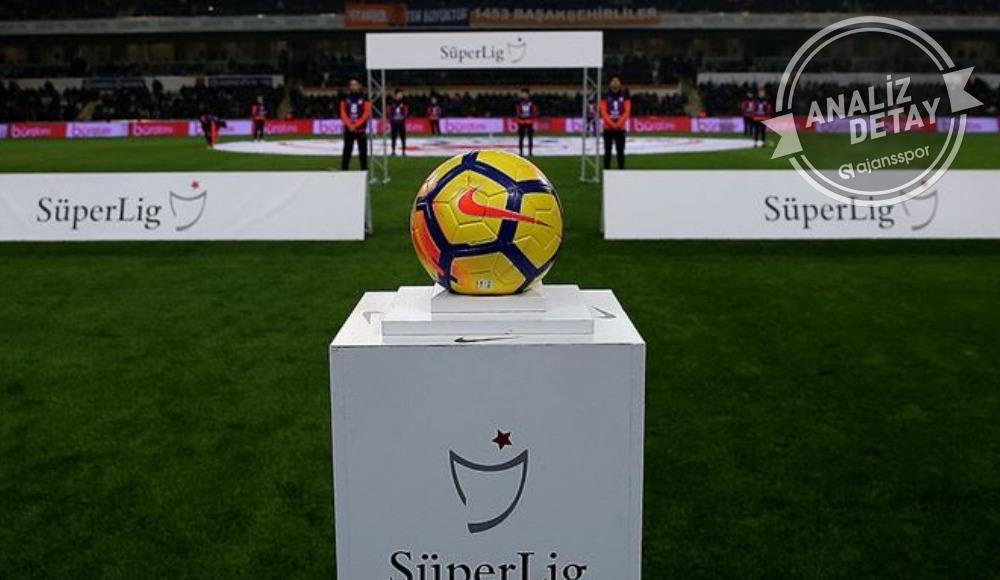 Süper Lig'in şampiyonunu ve küme düşecek takımları duyurdular