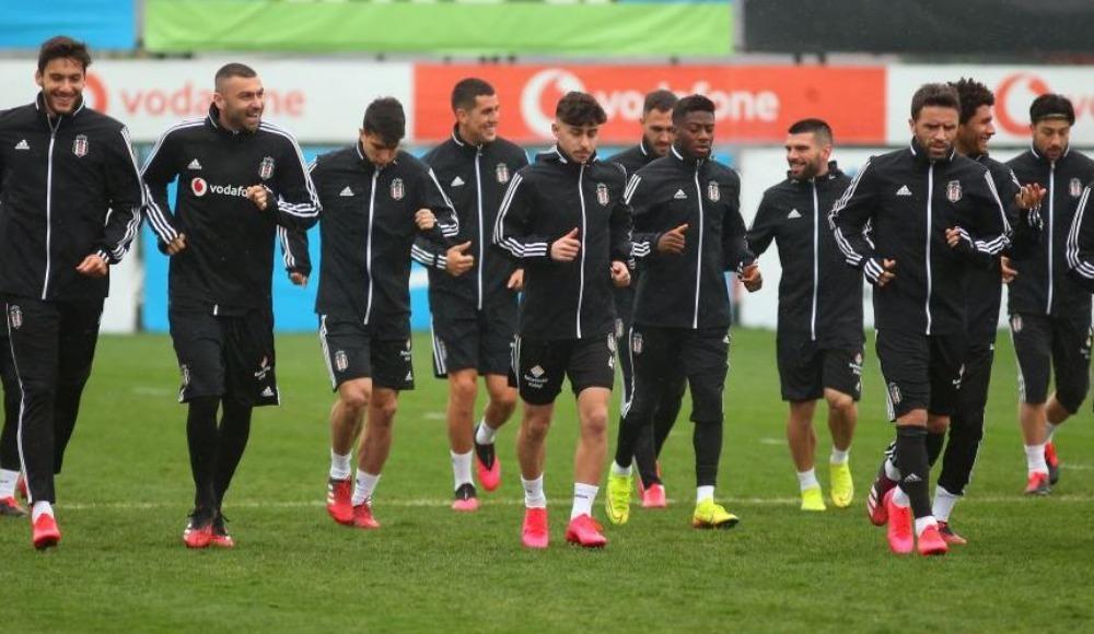 Beşiktaş'ta idmana çıkmak istemeyen oyuncu var mı?