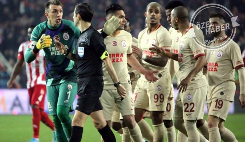 Galatasaray cephesinden penaltı tepkisi!