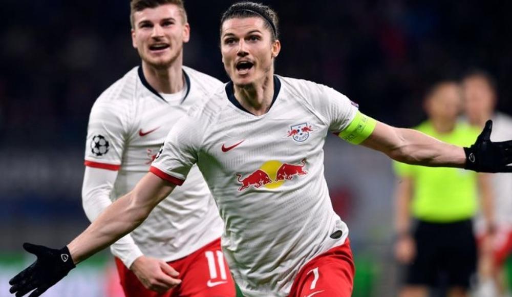 Leipzig zorlanmadan çeyrek finalde