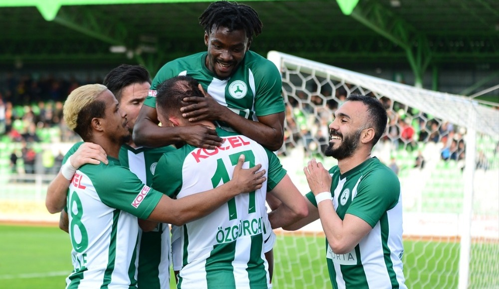 Giresunspor play-off aşkına!