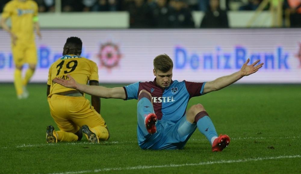 Trabzonspor'u korkutan sakatlık