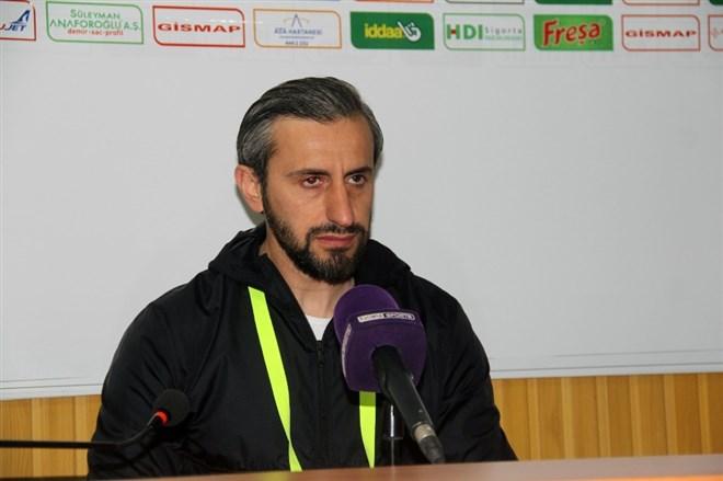 """Serkan Özbalta: """"Girdiğimiz pozisyonları değerlendiremedik"""""""