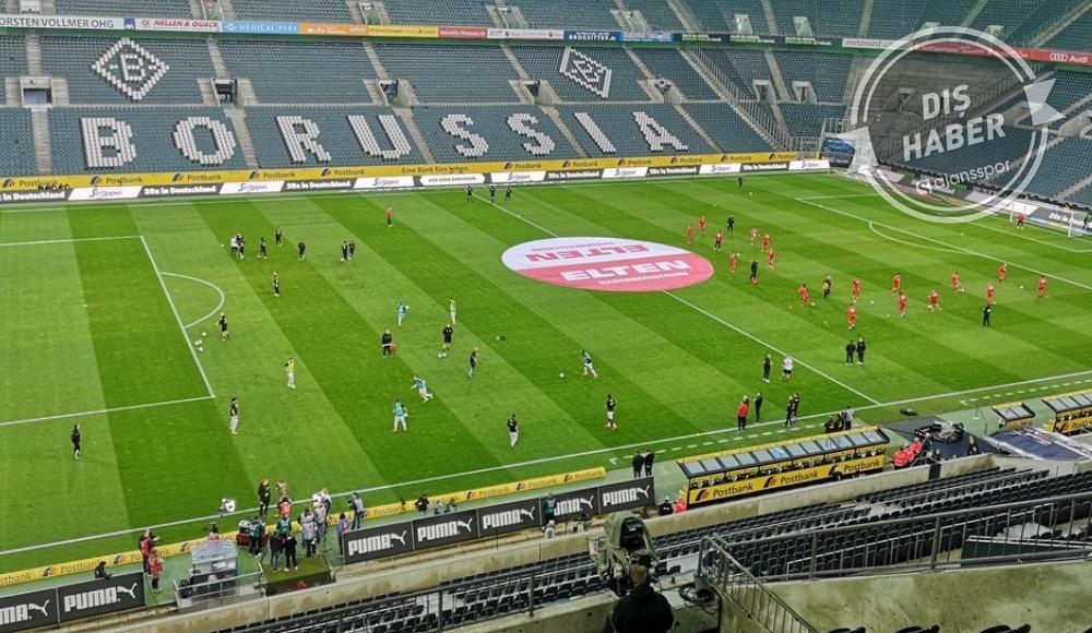 Tarihe geçen maçı Mönchengladbach kazandı