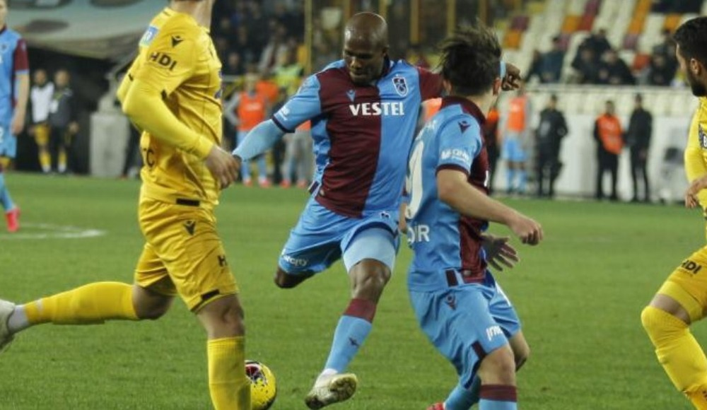 Trabzonspor'a Nwakaeme'den kötü haber