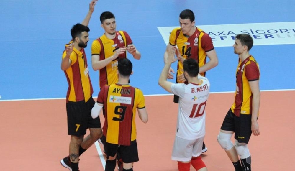 Galatasaray HDI Sigorta, sahasında kazandı