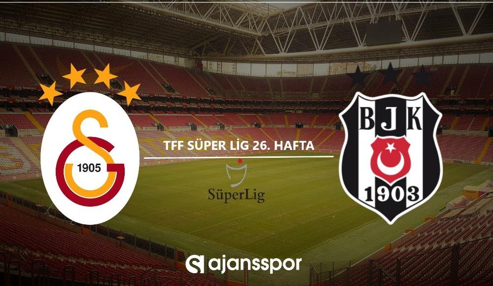 Galatasaray - Beşiktaş (Canlı maç seyret)