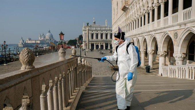 İtalya'dan koronavirüs manzaraları!