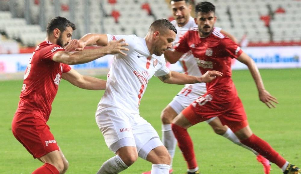 Antalyaspor'dan Sivasspor'a ağır darbe: 1-0