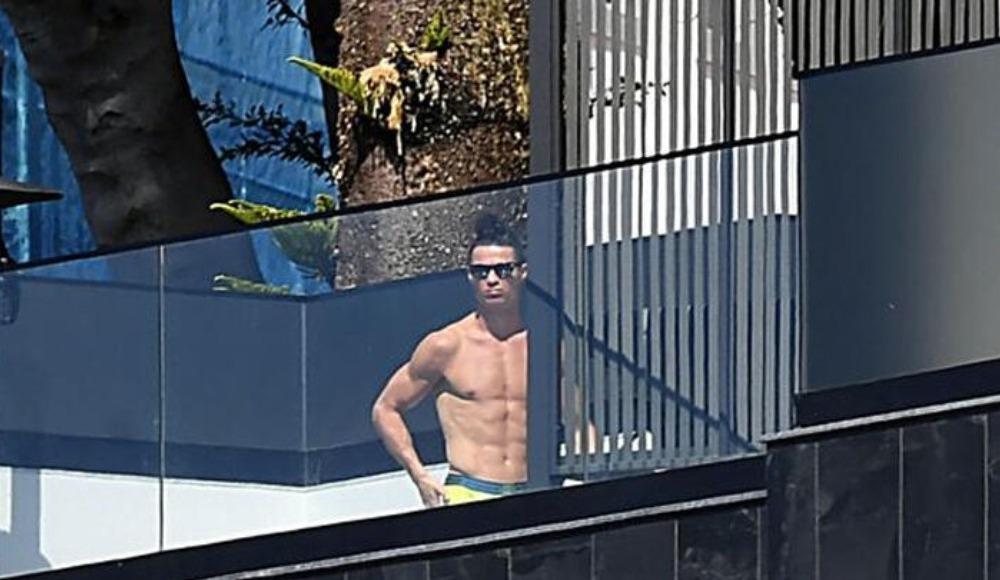 Ve Ronaldo ortaya çıktı!