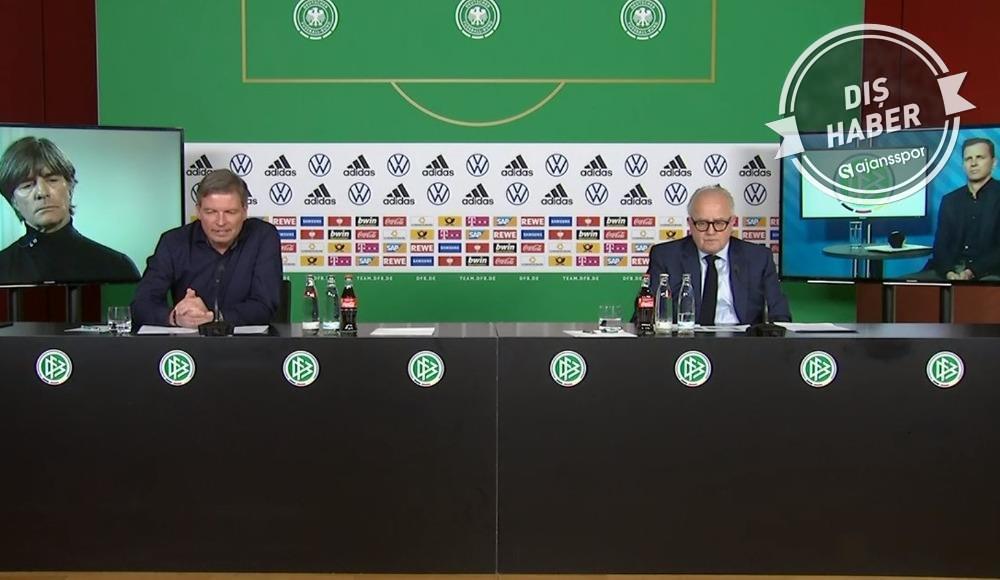 Almanya Futbol Federasyonu'ndan sıra dışı basın toplantısı!