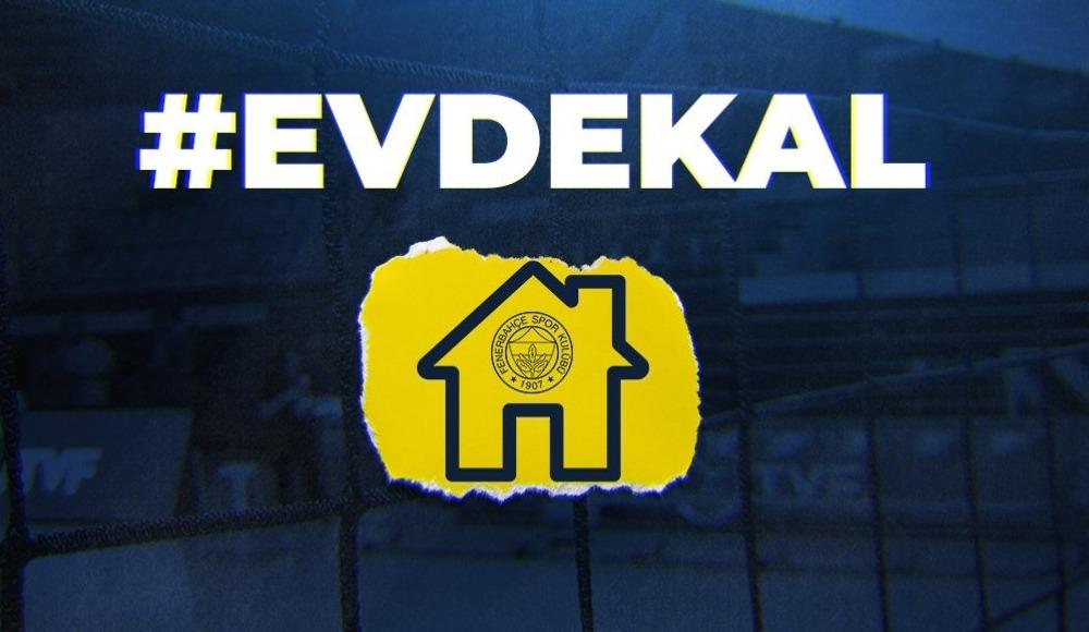 """Fenerbahçeli voleybolculardan """"Evde kal"""" çağrısı"""