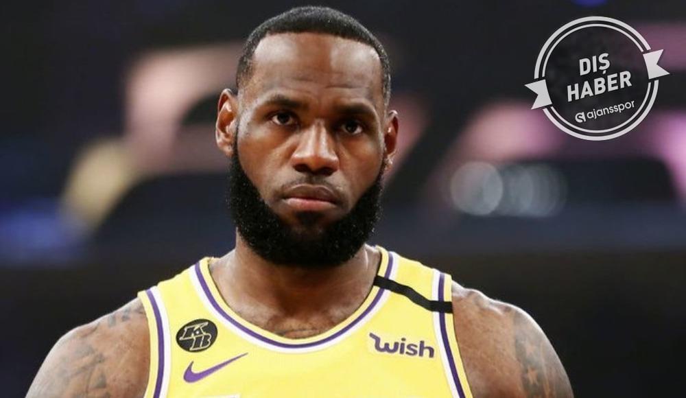 """LeBron James'ten NBA'e: """"Bunu yapamazsınız"""""""