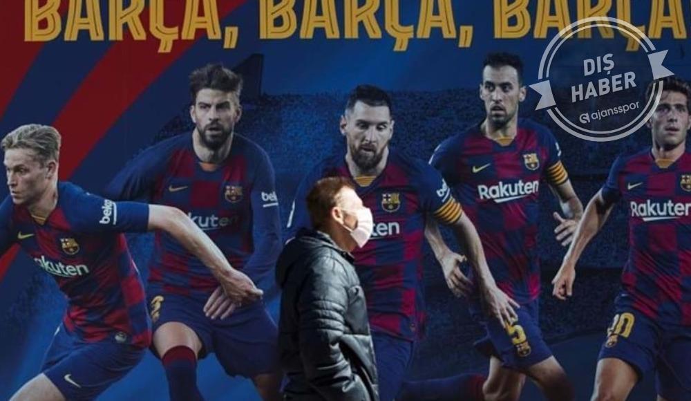 Barcelona'dan 30 bin maske...