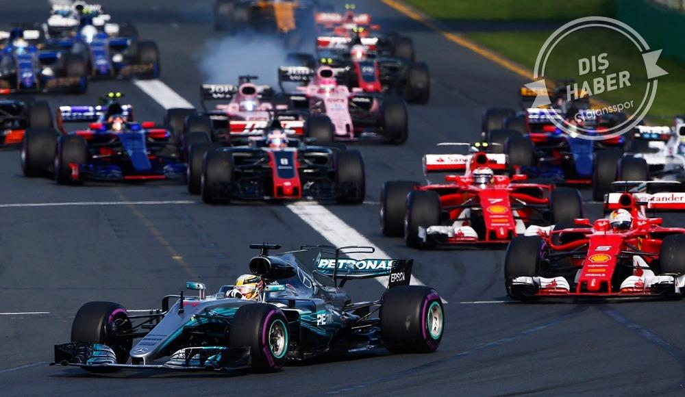 Formula 1 tarihinde bir ilk...