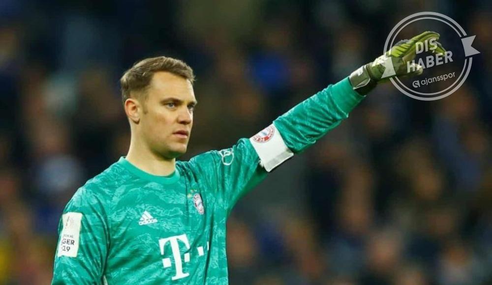 Bayern Münih'ten Neuer açıklaması