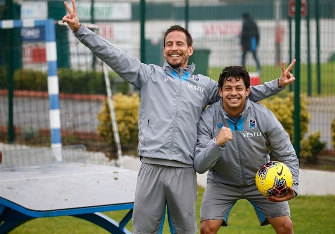 Pereira ve Guılherma 8 yıl sonra buluştu