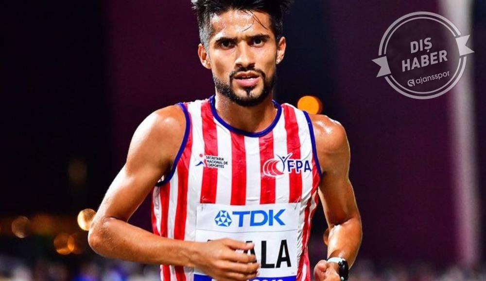 Paraguaylı koşucuya şok!