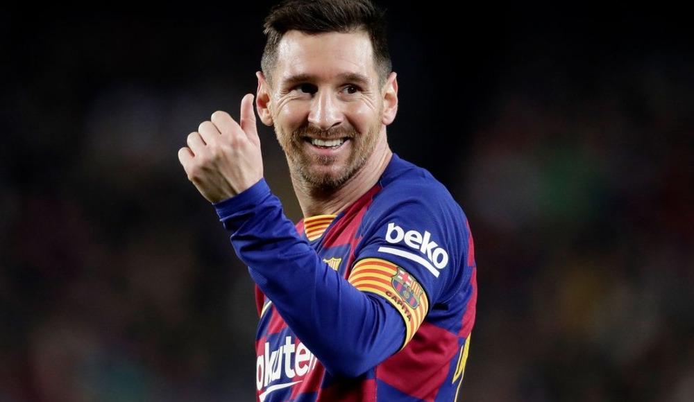 Canlı yayında büyük gaf! Messi'nin fotoğrafını karıştırdılar