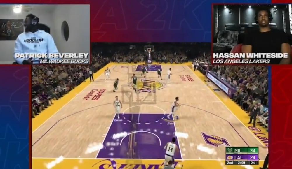 NBA oyuncuları konsolda kapıştı!