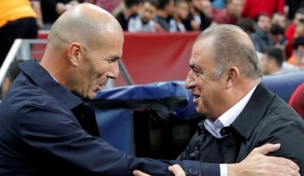 Zidane'dan Terim modeli!