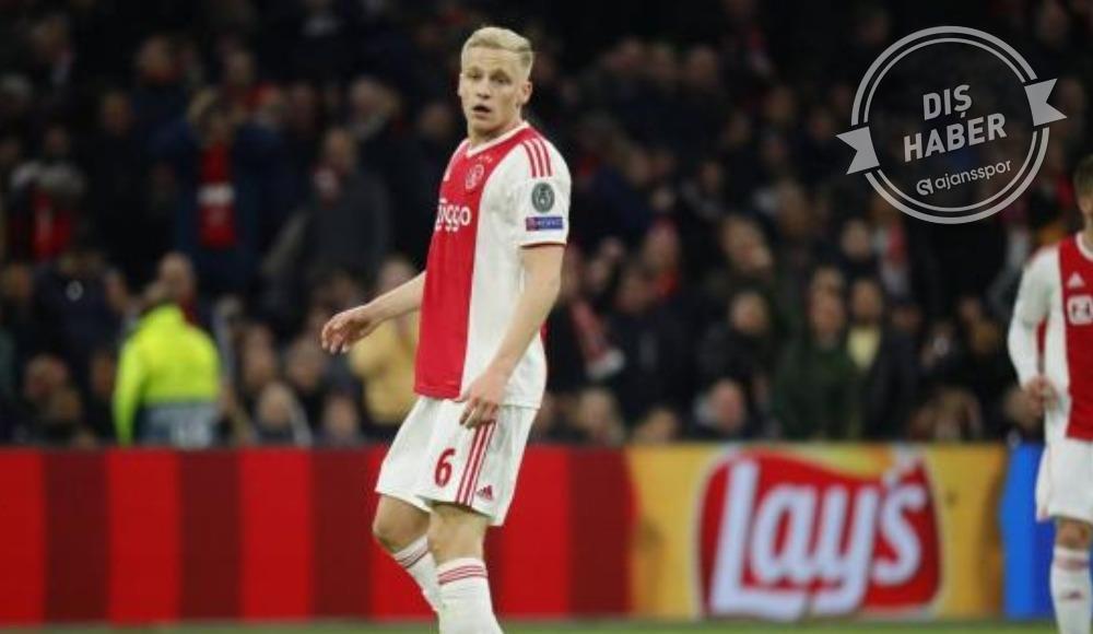 Donny van de Beek'ten Real Madrid açıklaması