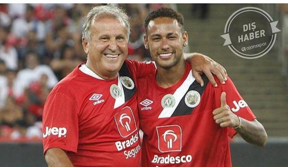 Zico'dan Neymar'a Messi ve Ronaldo göndermesi