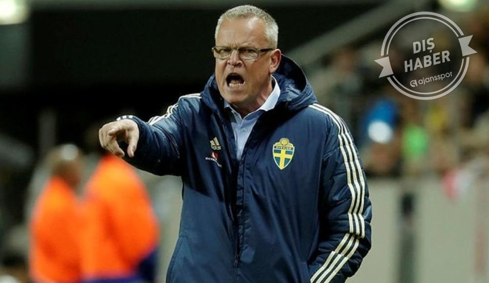 İsveç Teknik Direktörü Andersson...