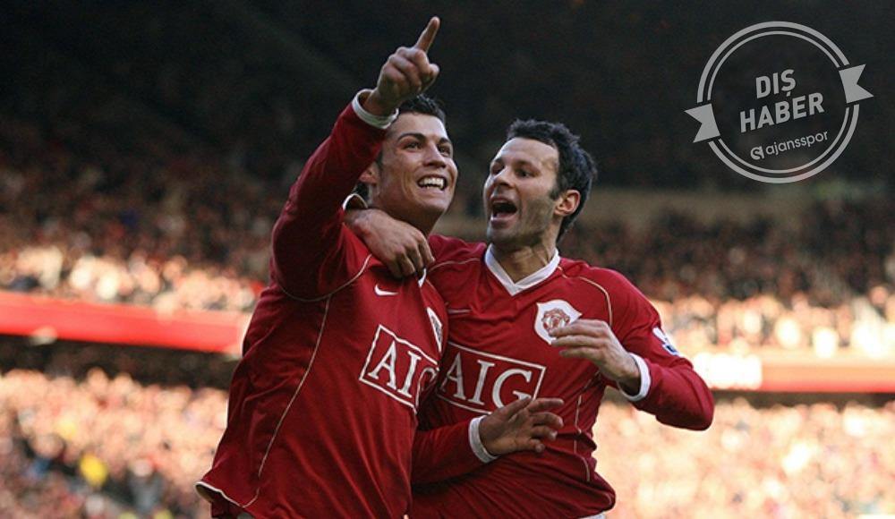 Ryan Giggs, Cristiano Ronaldo'yu yok saydı!
