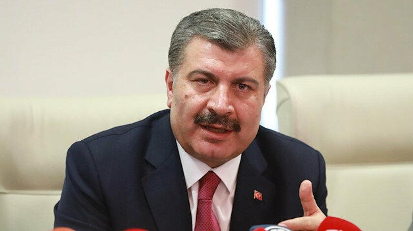 Bakan Koca'nın açıklamalarından Ajansspor'un derledikleri: