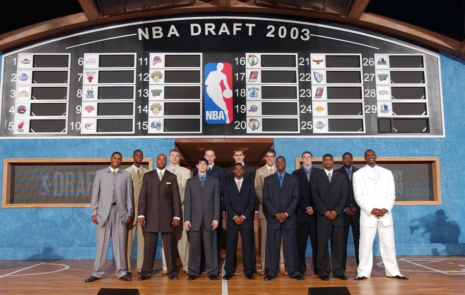 2003 Draftında neler olmuştu?