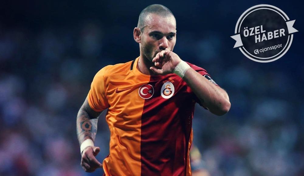 Sneijder, Galatasaray hayalini açıkladı!