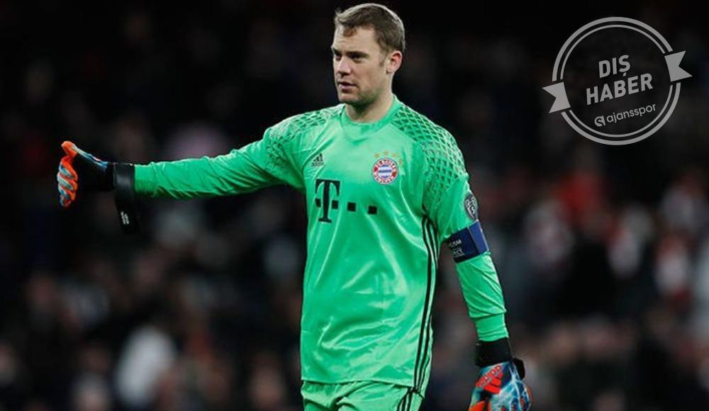 Bayern Münih'e Neuer şoku!