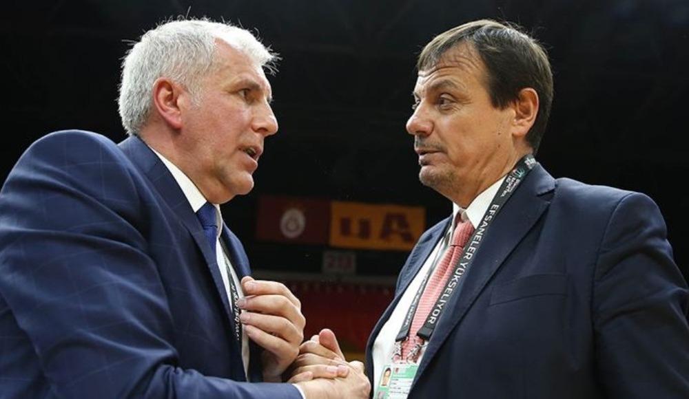 Ergin Ataman ve Obradovic görüştü! Ortak temenni...