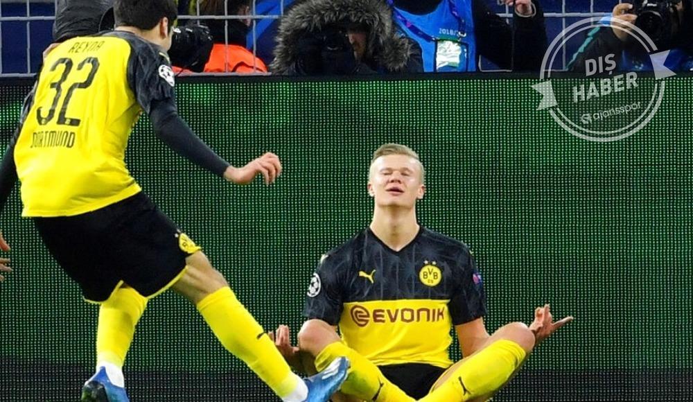 """Erling Haaland: """"Dortmund ile Şampiyonlar Ligi'ni kazanmak istiyorum"""""""